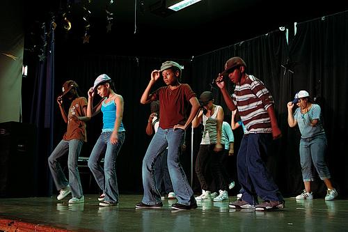 Throwback Thursday - Mott Hall II Middle School Urban Dance Program, Summer 2008
