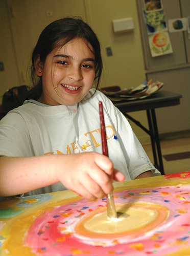 Throwback Thursday - Stanley Isaacs Neighborhood Center Visual Arts Program, May 2006